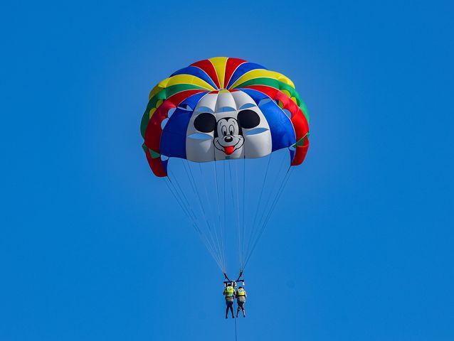 Paragliding in Kenya